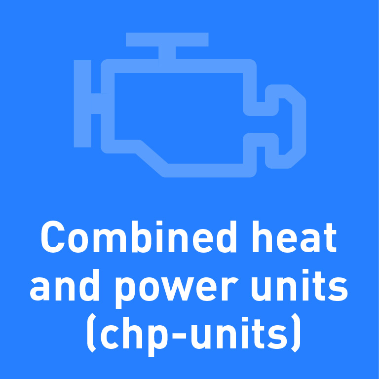 Combined heat and power units